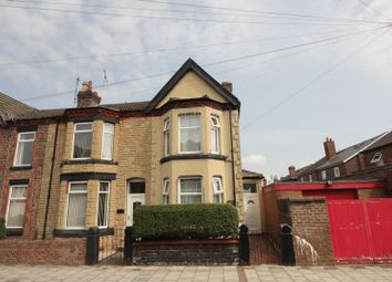 Thumbnail 3 bed terraced house for sale in Waverley Grove, Tranmere, Wirral