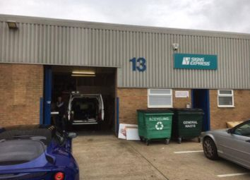 Thumbnail Light industrial to let in Unit 13, Silverwing Industrial Estate, Horatius Way, Croydon, Surrey