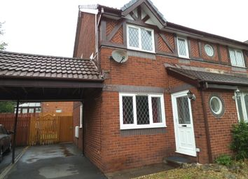Thumbnail 2 bed semi-detached house to rent in Rushfield Gardens, Bridgend