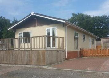 Thumbnail 2 bed mobile/park home for sale in Weston Wood Lodges Residential, Bridge Lane, Weston-On-Trent, Derby