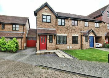 Thumbnail 3 bedroom end terrace house for sale in Bunsen Place, Shenley Lodge, Milton Keynes