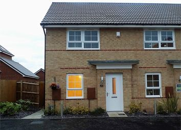 Thumbnail 2 bed end terrace house to rent in Red Admiral Road, Worksop, Nottinghamshire