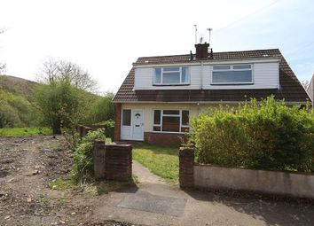 Thumbnail 3 bed semi-detached house for sale in Glyn Derwen, Llanbradach, Caerphilly, Caerffili