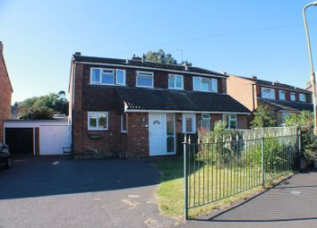 Thumbnail 3 bedroom semi-detached house for sale in Ambledale, Sarisbury Green, Southampton