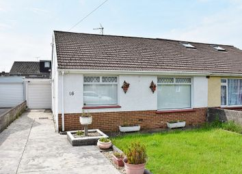 Thumbnail 2 bed semi-detached bungalow for sale in Idris Place, Bridgend