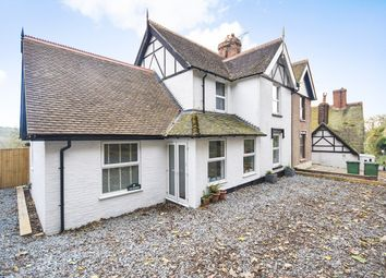 Thumbnail 4 bed semi-detached house for sale in Beachborough, Newington, Folkestone