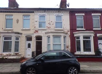 Thumbnail 3 bed terraced house for sale in Whitland Road, Kensington, Liverpool, Merseyside