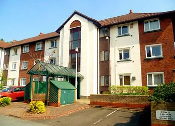 Thumbnail 2 bed flat for sale in Knights Court, Canterbury Gardens, Salford