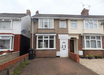 Thumbnail 2 bedroom end terrace house for sale in Wiltshire Avenue, Swindon