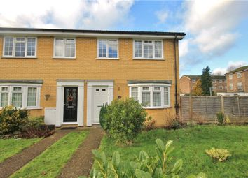 Thumbnail 3 bed end terrace house for sale in Hawksway, Staines-Upon-Thames, Surrey