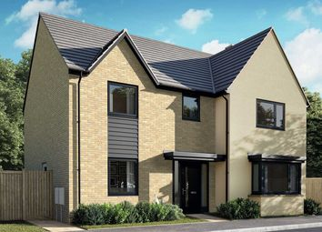 """Thumbnail 4 bed detached house for sale in """"The Cottingham"""" at Thorn, Dunstable"""
