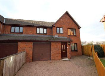 Thumbnail 3 bedroom semi-detached house to rent in Bronant, Talgarth, Brecon