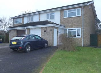 Thumbnail 3 bedroom semi-detached house for sale in Daffodil Close, Basingstoke