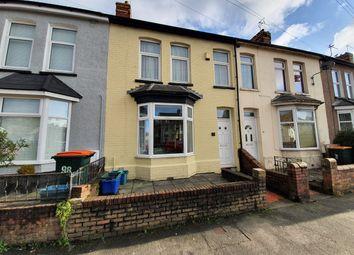 Thumbnail 4 bedroom terraced house for sale in Malpas Road, Newport