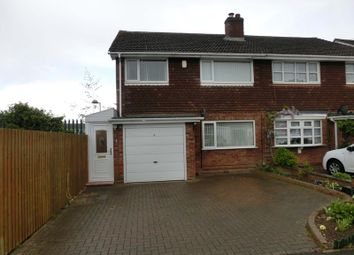 Thumbnail 3 bed semi-detached house for sale in Pickenham Road, Nr Hollywood, Birmingham