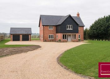 Thumbnail 5 bed detached house for sale in Wheelers Lane, Seething, Norwich
