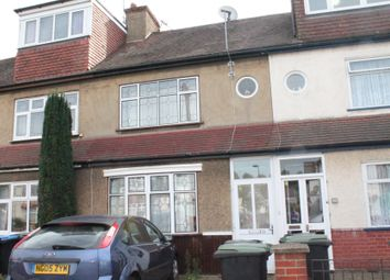 Thumbnail 3 bed terraced house to rent in Amersham Avenue, London