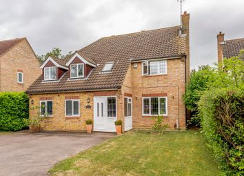 Thumbnail 4 bed detached house for sale in Sapley Road, Huntingdon