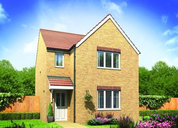 "Thumbnail 3 bed detached house for sale in ""The Hatfield"" at Pomphlett Farm Industrial, Broxton Drive, Plymouth"