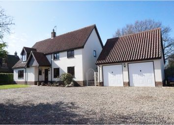 Thumbnail 4 bed detached house for sale in Church Lane, Thwaite