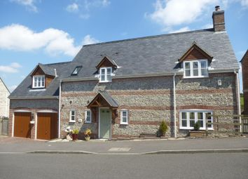 Thumbnail 4 bed detached house to rent in Haydon Hill Close, Charminster, Dorchester