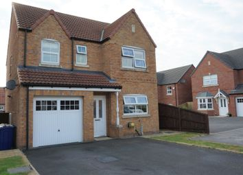 Thumbnail 4 bed detached house for sale in Roman Way, Caistor