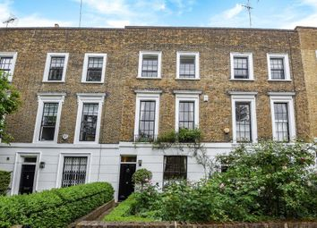 Thumbnail 3 bedroom terraced house to rent in Ordnance Hill, London NW8,