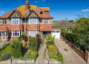 Thumbnail 4 bed semi-detached house for sale in Rutland Gardens, Cliftonville, Margate