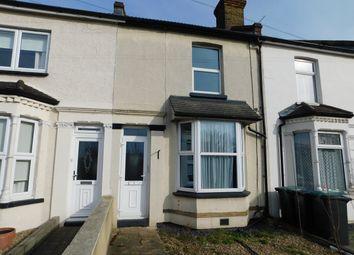 Thumbnail 2 bedroom terraced house to rent in Vale Road, Northfleet