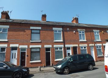 Thumbnail 4 bed terraced house for sale in Harewood Street, Off Uppigham Road, Leicester