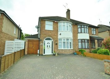 Thumbnail 3 bedroom semi-detached house for sale in 15 Woodbank Road, Knighton, Leicester