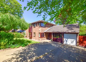 Thumbnail 4 bed detached house for sale in Raby Drive, Raby Mere