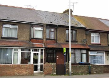 Thumbnail 3 bedroom terraced house to rent in Ramsgate Road, Margate