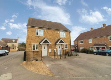 Thumbnail 2 bed semi-detached house for sale in Browning Close, Bromham, Bedford