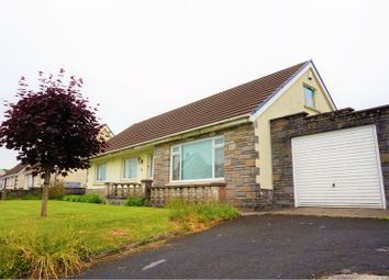 Thumbnail 5 bed detached bungalow for sale in Heol Y Dre, Llanelli