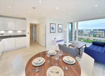 Thumbnail 2 bed flat to rent in Abbotsford Court, Royal Waterside, London