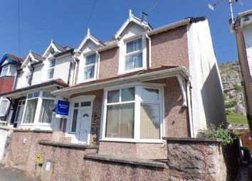 Thumbnail 3 bed end terrace house for sale in Llwynon Road, Llandudno, Conwy