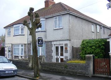 Thumbnail 3 bedroom flat to rent in Addicott Road, Weston-Super-Mare, North Somerset