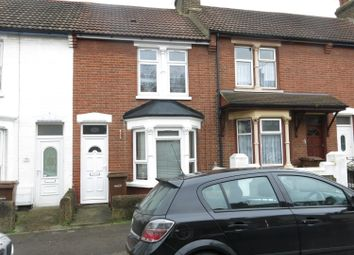 Thumbnail 3 bedroom terraced house to rent in Cavendish Avenue, Gillingham