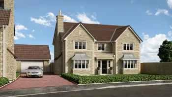 Thumbnail 5 bed detached house for sale in Longmead Close, Norton St. Philip, Bath