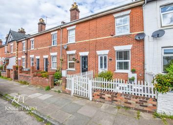 Thumbnail 2 bed terraced house for sale in Wickham Road, Colchester