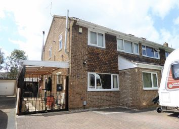 Thumbnail 3 bed semi-detached house for sale in Kennet Avenue, Swindon
