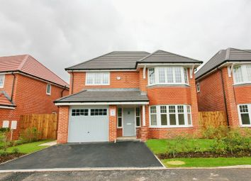 Thumbnail 4 bed detached house for sale in Cranleigh Drive, Walkden, Manchester