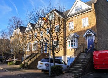 Thumbnail 4 bedroom town house for sale in Molteno Road, Nascot Wood, Watford