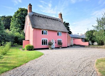 Thumbnail 4 bedroom cottage for sale in Church Road, Henstead, Beccles