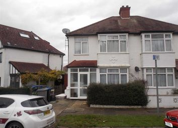 Thumbnail 3 bed semi-detached house to rent in Sylvester Road, Wembley, Middlesex