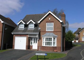 Thumbnail 4 bedroom detached house for sale in Mansion Close, Earls Keep, Dudley