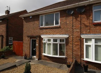 Thumbnail 2 bed semi-detached house for sale in Dunelm Drive, West Boldon, East Boldon