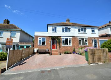 Thumbnail 4 bed semi-detached house for sale in Warren Way, Folkstone, Kent