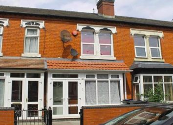 Thumbnail 3 bed terraced house for sale in Greenhill Road, Handworth, Birmingham